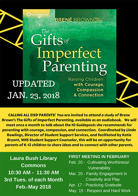 The Gifts of Imperfect Parenting Book Study